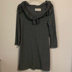 Anthropologie Leifsdottir 3/4 Sleeve Sweater Dress